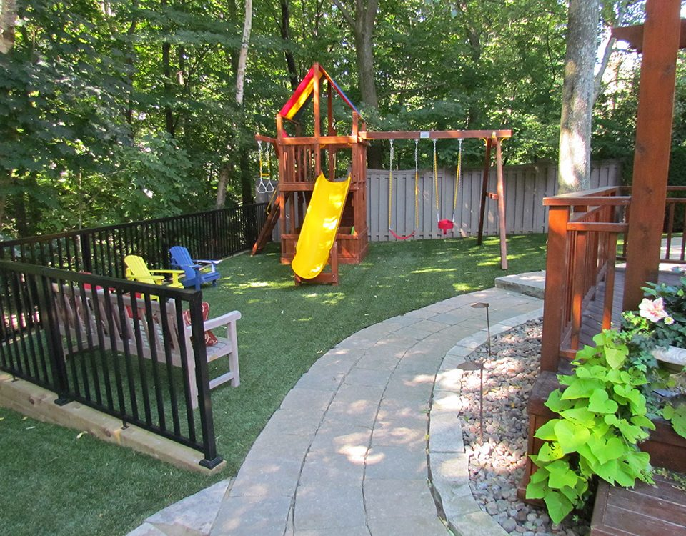 lawn playground grass for kids in toronto