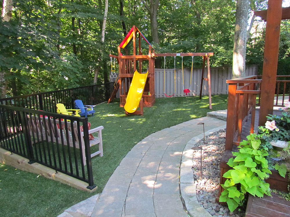 Backyard Playground Artificial Grass