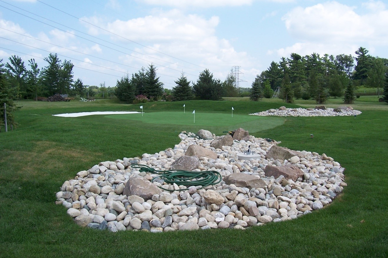 putting green turf products