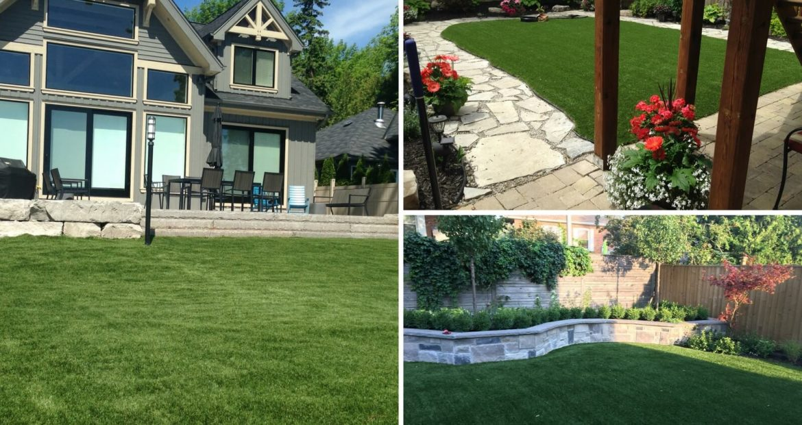 Beautiful Artificial Grass Lawns In The GTA