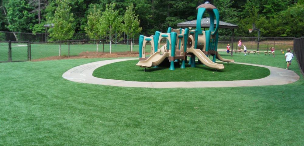 artificial surface for playground
