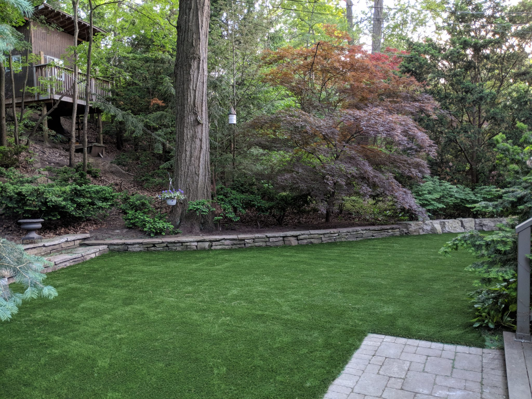 artificial grass lawn-large