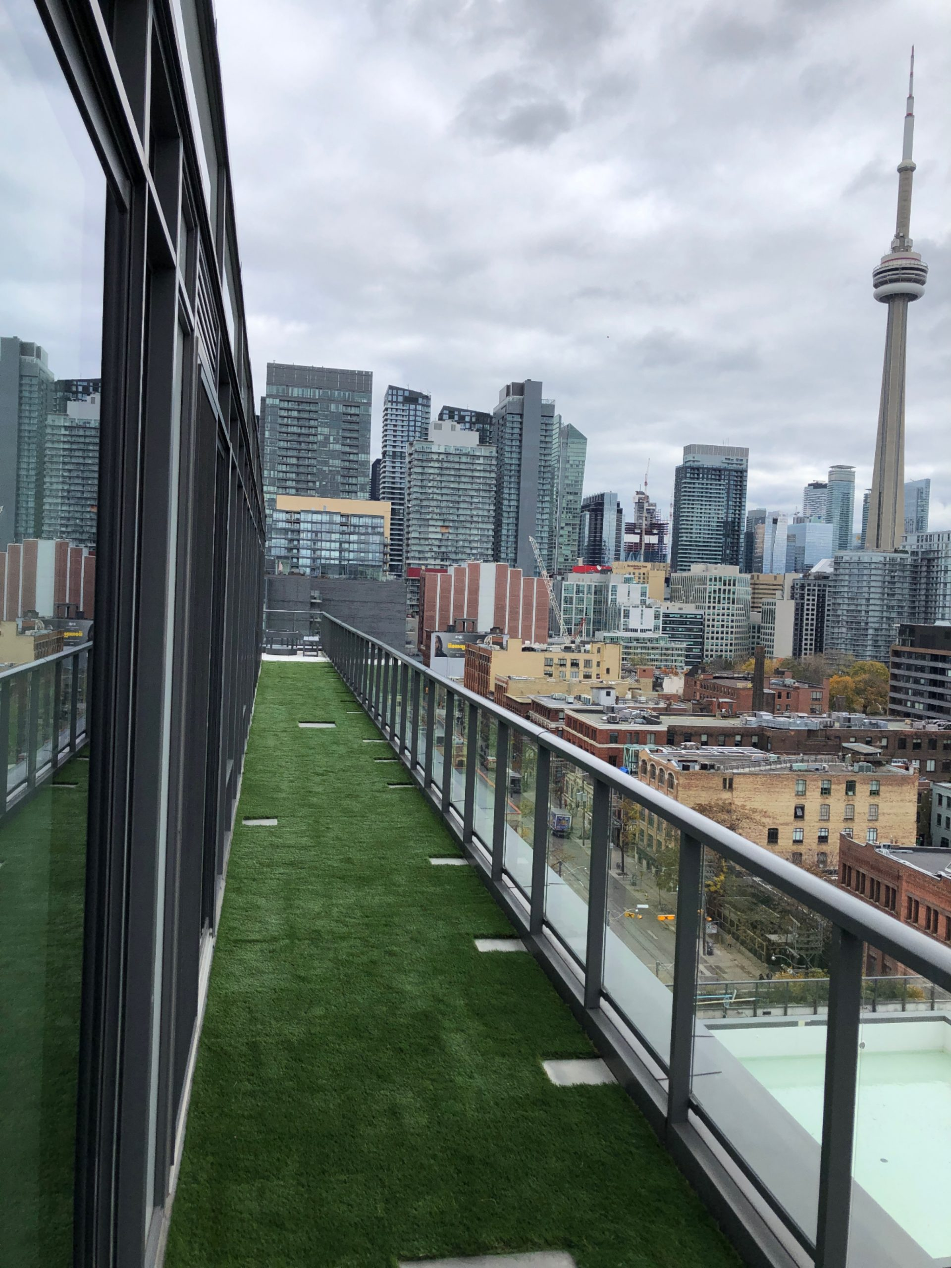 Artificial grass solutions for condos