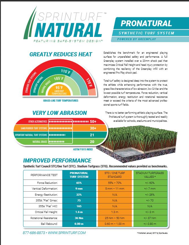 ProNAtural Artificial grass Schools