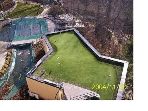 roof-top artificial green Toronto