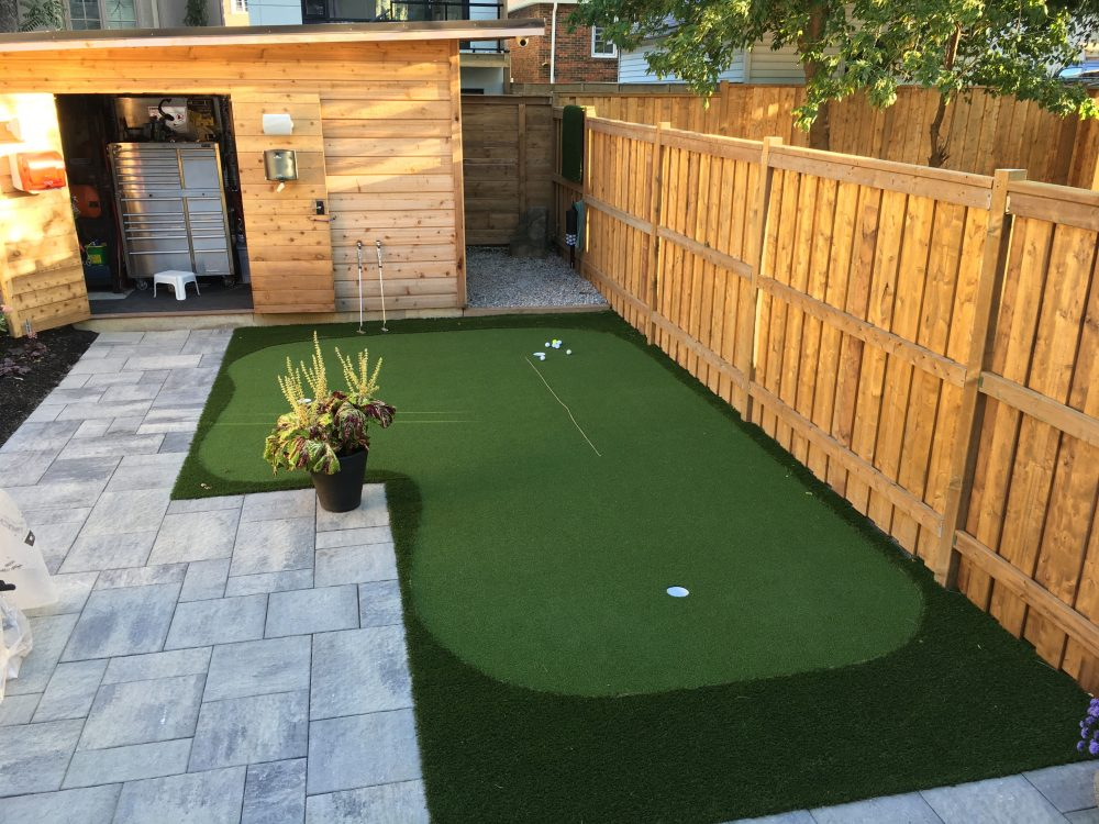 3 Hole Synthetic Golf Green
