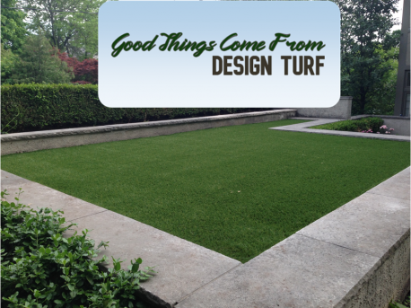 Good things come from Design Turf