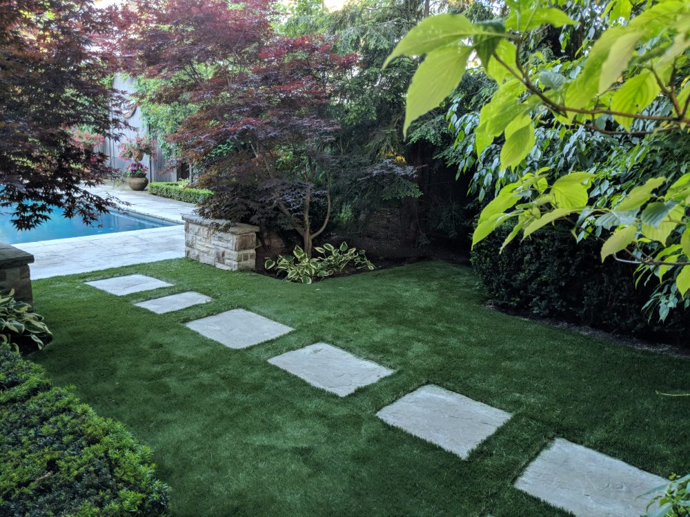 The perfect paver path to the pool