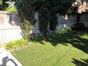 Plant a perimeter garden for visual interest