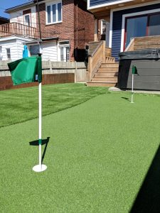 Small but perfect PG-Augusta with PushNPutt Flags