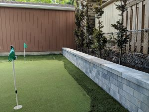 We strive for perfection Perfect walls, perfect golf greens and great grass