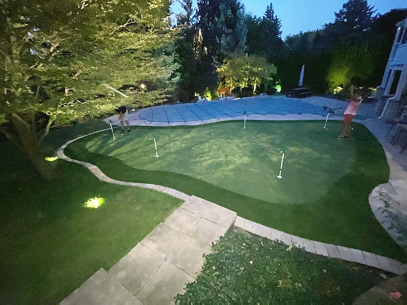 Low voltage Night Lighting putt anytime