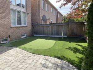 Great 3 hole golf green