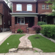 Toronto Front lawn with pathway to front door