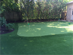 Nicely sloped for those left and right breaking putts!