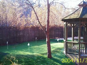 Rosedale synthetic golf green 2004
