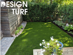 A serene backyard setting using our Natural Real Grass