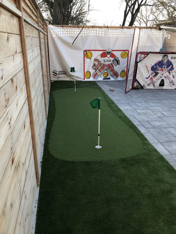 Sport Lovers backyard