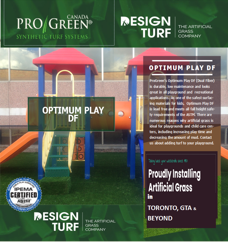 artificial grass for daycares & playgrounds