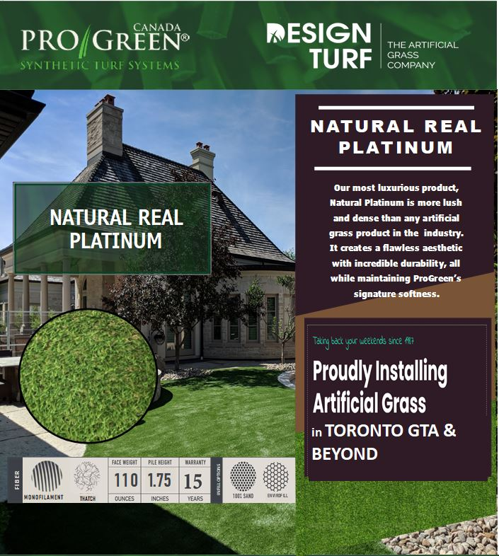 Artificial grass installations for Toronto homes