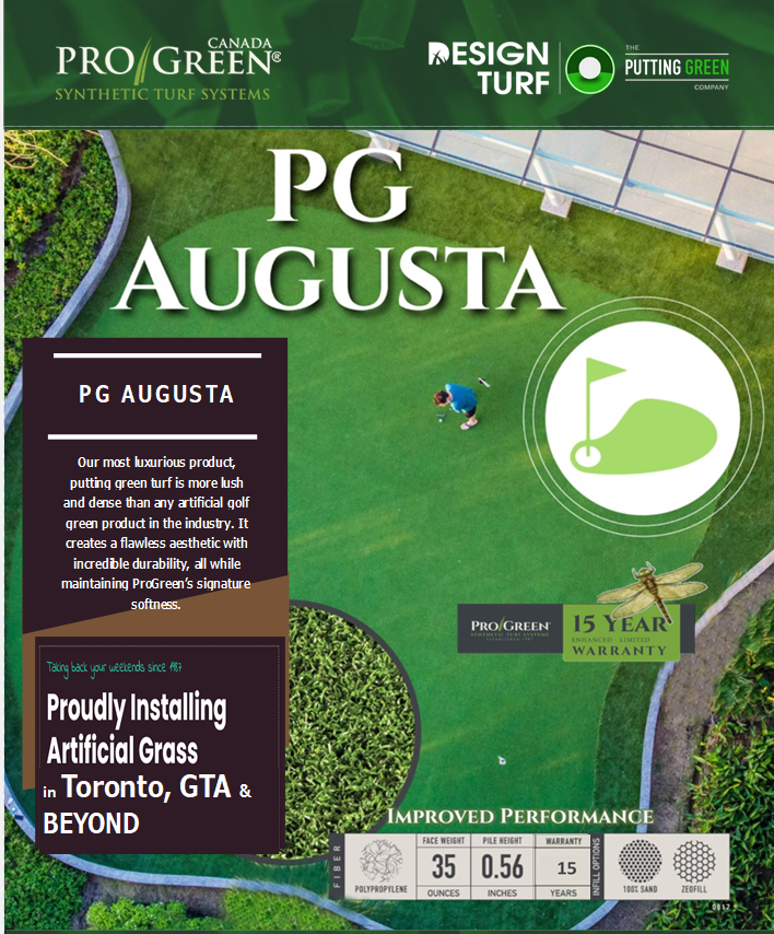 PG Augusta Artificial Turf for Golf